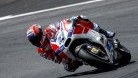 Casey Stoner in action yesterday