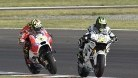 Crutchlow was able to pass Iannone when it mattered most