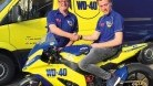 Hornsey with WD-40 team boss Brent Gladwin