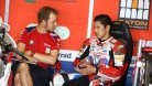 Kiyonari with crew chief Steve Hicken