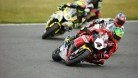 Linfoot leading the battle for fifth in race one