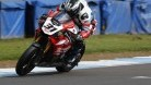 Michael Dunlop in action at Thundersport Donington