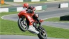Pete Carr leaps the Mountain at Cadwell