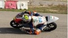 Saez pictured in Repsol series action