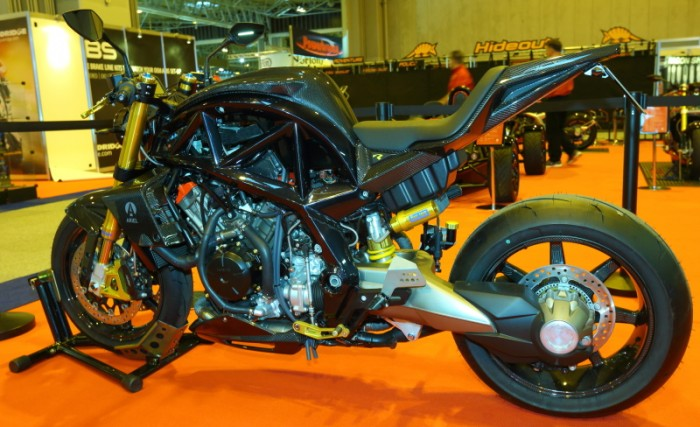 On show at the NEC