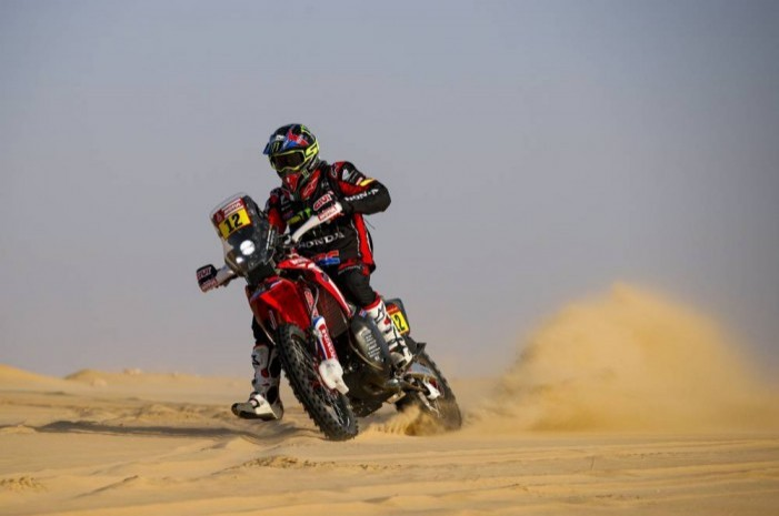 Barreda took his first 2020 Dakar stage win today