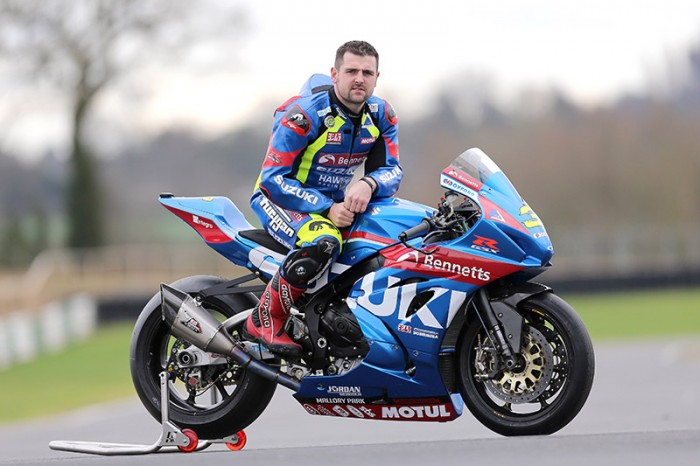 Michael Dunlop puts new Suzuki to test at Mallory