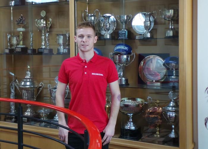 Tom Neave joins Honda in Superstock 1000