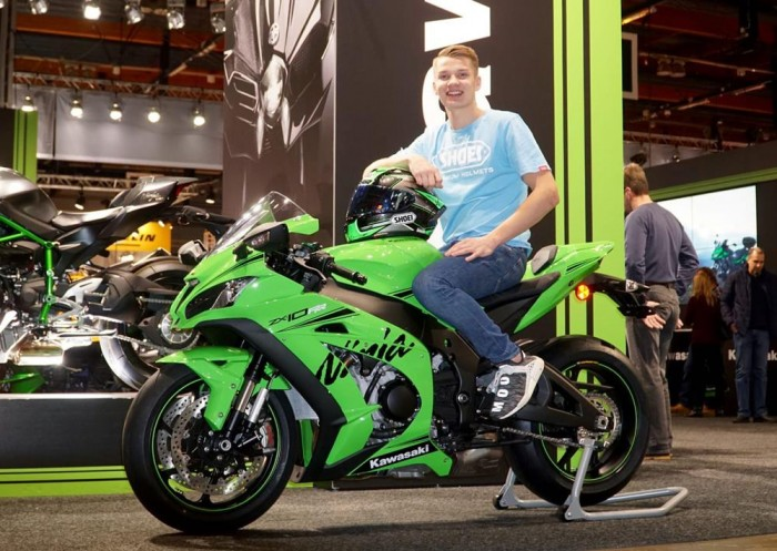 Lahti with the 2019 ZX-10RR