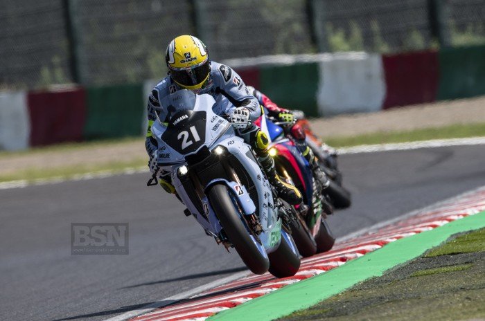 Alex Lowes in action at Suzuka
