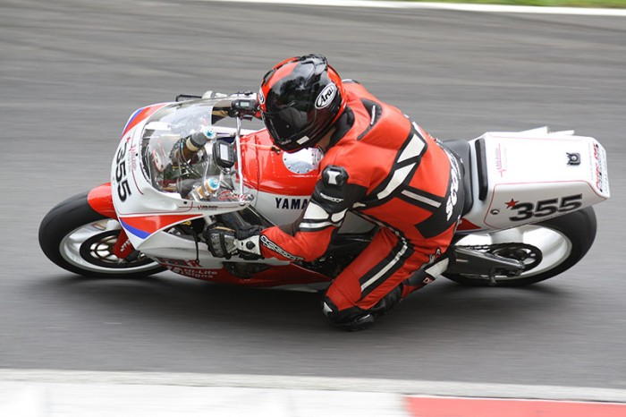 Mark Ess in action at the weekend