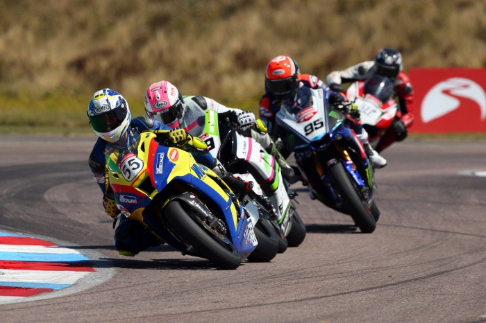 Law (55) and Rouse ahead of Mackenzie at Thruxton