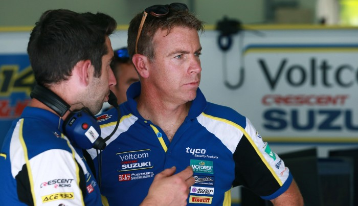 Denning has stressed that remaining with Suzuki is a priority