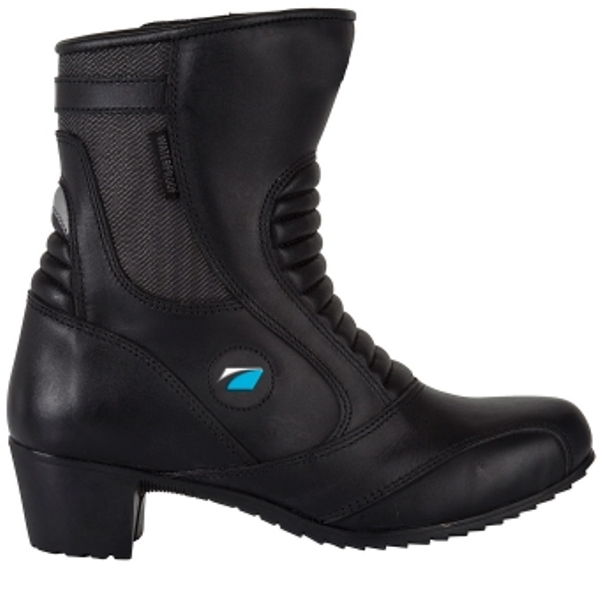 These boots come in a feminine style to suit many lady bikers