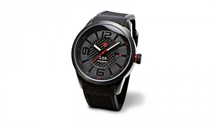 Be the envy of your mates with this stylish watch from the Suzuki collection