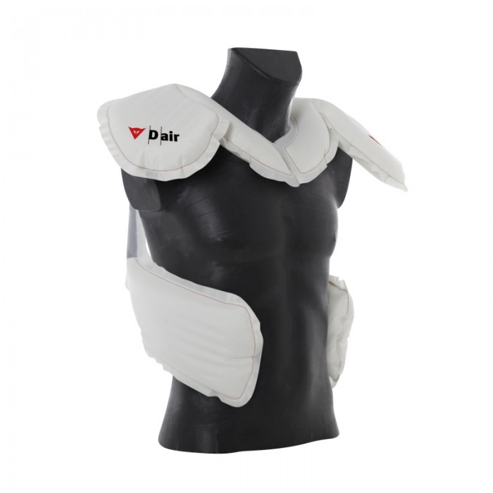 New D-Air airbag design. Note the extra sections lower down - they may not suit(!) the fuller figure of course...