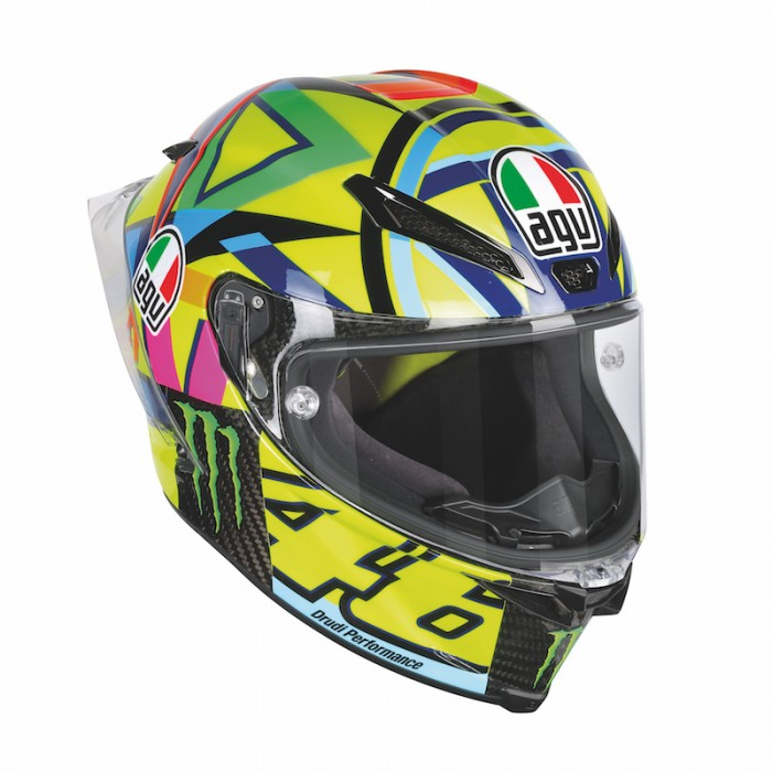 Help a poor racer from Tavullia, buy his replica lid and help him save for his retirement...