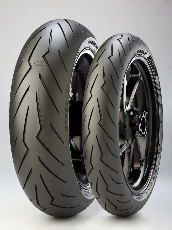 The tyres are good for sporting aspired road riders who may venture on the occasional trackday
