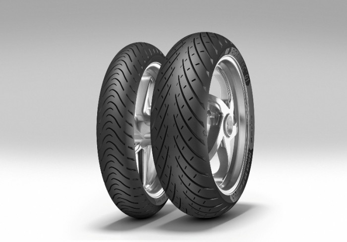 The tyres offer great stability at high speed