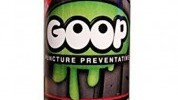 Goop is suitable for both tubed and tubeless tyres