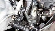 The rear sets are made from high quality 7075 aluminium