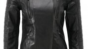 The jacket comes in an array of sizes that will suit any lady