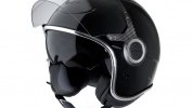 This helmet comes in black, white, grey and red