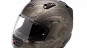 The helmet from Ducati is lightweight and comfortable