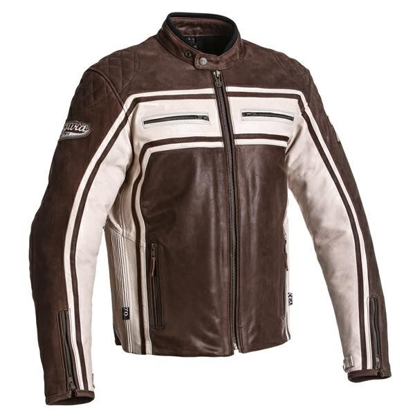 The jacket comes in sizes small to 3XL
