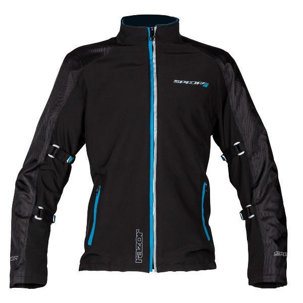 The jacket is good for riding at night too