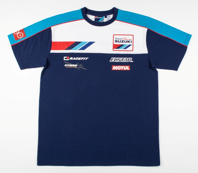 This will be worn by the Suzuki team at the Classic TT this year